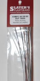 Slaters Plasticard - Assorted Plastic Rodding