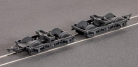Parkside Models (ex Ratio 107) MR 10 feet Coach Bogies and Wheels