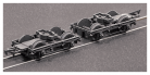 Parkside Models (ex Ratio 108) LNWR 8 feet Coach Bogies and Wheels