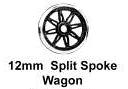 Romford 4mm - 12mm 8 Split Spoke (price per axle)