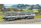 Ratio Plastic Models 562 - GWR Bogie'A' Flat Wagon (with girder load)