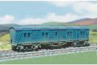 Parkside Models (Ex Ratio 592) - SR/BR 28 Ton Bogie 'B' Van