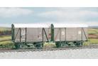 Parkside Models (Ex Ratio 594) - SR 12 Ton Even Planked Ventelated Box Van