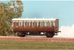 Parkside Models (EX Ratio 610) - GWR 4 Wheel All 3rd Coach