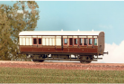 Parkside Models (EX Ratio 613) - GWR 4 Wheel Brake 3rd Coach