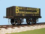 Slaters - Private Owner - Burtt Beehive Manufacturer - 6 Plank Gloucester Side Door