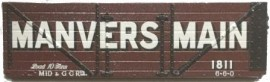 Slaters 7mm Private Owner - 'Manvers Main' Collieries, Rotherham