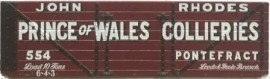 Slaters 7mm Private Owner - Prince of  Wales Collieries, Pontefract