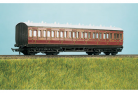 Ratio Plastic Models 710 - LMS (exMR) 48ft Suburban All 3rd 8 Compartment Coach
