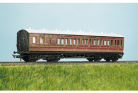 Parkside Dundas (EX Ratio 713) - LMS (exMR) 48ft Suburban Brake 3rd 6 Compartment Coach
