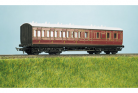 Parkside Models (EX Ratio 714) - LMS (exMR) 48ft Suburban Brake 3rd 4 Compartment Coach