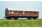 Ratio Plastic Models 720 - LMS (ex MR) Clerestory All 3rd & Luggage Coach