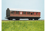 Parkside Models (EX Ratio 723) - LMS (ex MR) Clerestory Brake 3rd Coach