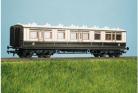 Parkside Models (EX Ratio 730) - LMS (ex LNWR) 50ft Arc Roof Corridor All 3rd Coach