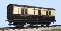 Slaters 7C05 - GWR 4 Wheeled Brake Van (Diagram V5)