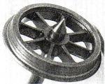 Alan Gibson P4 - 12mm 8 Spoke Plain (price per axle)