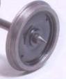 Alan Gibson P4 - 14mm Plain Disc (price per axle)