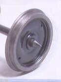 Alan Gibson 14mm Plain Disc Coach Wheels (price per axle)