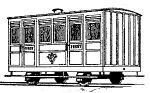 Dundas Models BB06 - Festiniog Railway 4-Wheel Ashbury 1st Class Coach