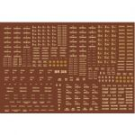 Modelmaster Decal - BR Engineering Dept Wagons, large variety of types (cream) 1948-1965