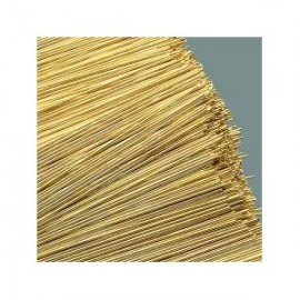 Brass Wire (Pack 10) 0.7mm x 300mm