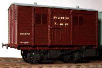 Cambrian Model Rail C87 - LMS 6 Ton Fish Van (D1885)