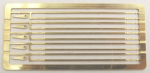 Cambrian Models C45 - Etched tie bars for 10' wb wagons