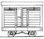 Dundas Models DM03A - Freelance 4-Wheel Brake Van