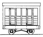 Dundas Models DM04A - Freelance 4-Wheel Coach