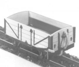 Dundas Models - Lynton & Barnstaple 4-Wheel Open Wagon (Top-hung doors)