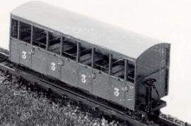 Dundas Models - Festiniog Railway Semi-Open Bogie Coaches Nos. 37 & 38