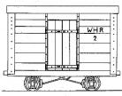 Dundas Models - WHR 4-Wheel Van No.2