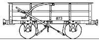Dundas Models DM54 - Festiniog Railway 3 Ton Slate Wagon (pack of 5)
