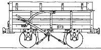 Dundas Models DM56 - Festiniog Railway Granite (End Door) 'Wagon (pack of 5)