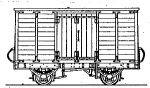 Dundas Models DM70 - Tralee & Dingle Railway Covered Goods Van