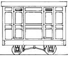 Dundas Models DM75  - Freelance 3rd Panelled 2 Compt. Coach
