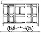 Dundas Models - Freelance 1st Class Panelled 2 Compt. Coach