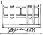 Dundas Models DM76 - Freelance 1st Class Panelled 2 Compt. Coach