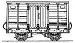 Dundas Models DT03 - Tralee & Dingle Railway Butter Van