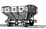Dundas Models DM06 - Snailbeach District Railways Hopper Wagon