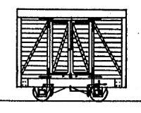 Dundas Models DM35 - 4-Wheel Goods Van (based on Glyn Valley Van)
