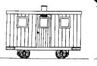 Dundas Models 009 Coach & Wagon Kits