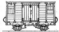 Dundas Models DM71 - Tralee & Dingle Railway Covered Cattle & Goods Van