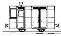 Dundas Models DM74 - Victorian 4-Wheel Passenger Guards Van