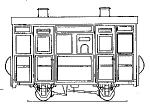 Dundas Models DP02 - Accessory Kit to convert DM29 to Brake/Compartment Coach