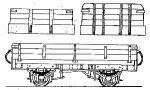 Dundas Models DT05 - Irish N G Open Goods Wagon