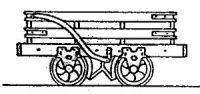 Rodney Stenning 009 - T8 Talyllyn Railway 2 bar Slate Wagon