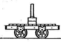 Rodney Stenning 009 - T10 Talyllyn Railway Bolster or Flat Wagon