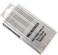 Microbox HSS Twist Drills - Pack of 20 (0.3-1.6)