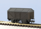 Peco N Gauge Wagon Kit KNR-120 - 10ft Wheelbase Salt Wagon